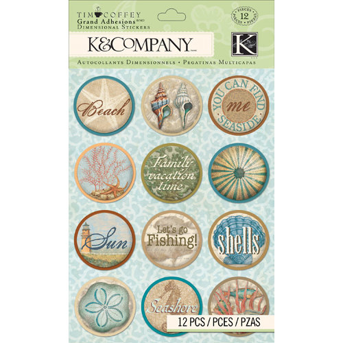 K and Company - Travel Collection - Grand Adhesions - Word