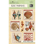 K and Company - Travel Collection - Grand Adhesions - Stamp