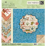 K and Company - Travel Collection - 12 x 12 Specialty Paper Pad