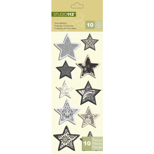 K and Company - Studio 112 Collection - Pillow Stickers - Star