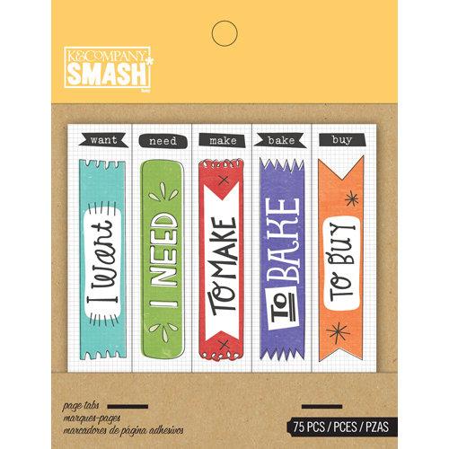 K and Company - SMASH Collection - Page Tabs - Flag