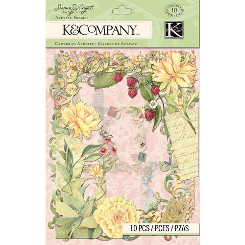 K and Company - Floral Collection - Acetate Frames
