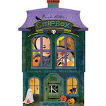 K and Company - Haunted Collection - Halloween - Chipboard Box