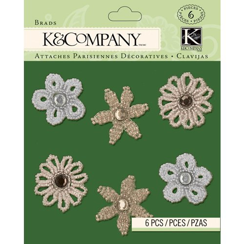 K and Company - Christmas 2012 Collection by Tim Coffey - Beaded Brads