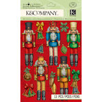 K and Company - Christmas 2012 Collection by Tim Coffey - Grand Adhesions - Nutcracker