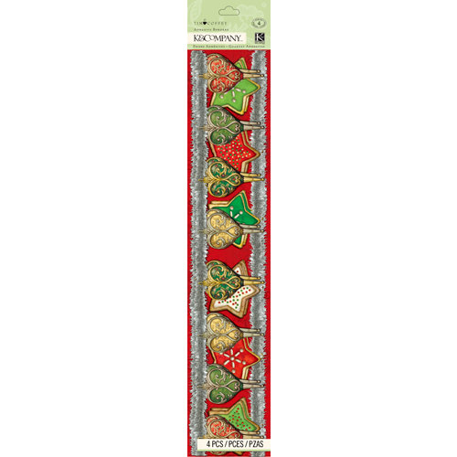 K and Company - Christmas 2012 Collection by Tim Coffey - Specialty Adhesive Borders