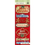 K and Company - Christmas 2012 Collection by Tim Coffey - Adhesive Chipboard with Gem and Glitter Accents