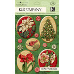 K and Company - Christmas 2012 Collection by Tim Coffey - Clearly Yours - Epoxy Stickers