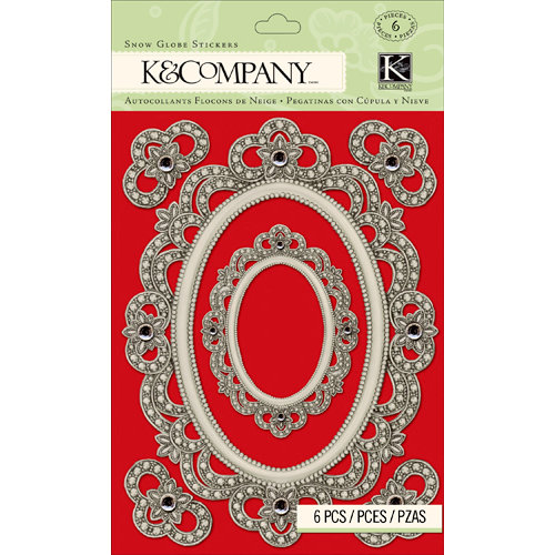 K and Company - Christmas 2012 Collection by Tim Coffey - Adhesive Gems - Frame