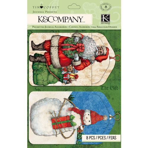 K and Company - Christmas 2012 Collection by Tim Coffey - Journal Pockets