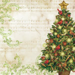 K and Company - Christmas 2012 Collection by Tim Coffey - 12 x 12 Paper - Tree