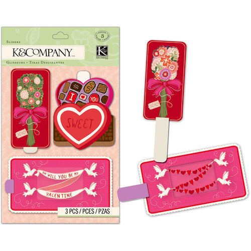 K and Company - Cupid Collection - Sliders