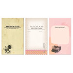 K and Company - SMASH Collection - Journaling Tag Pad - Past Present Future