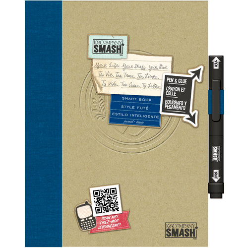 K and Company - SMASH Collection - Journal Book - Smart Style Folio