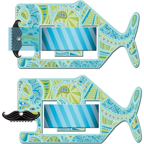 K and Company - SMASH Collection - Tape Dispenser - Whale