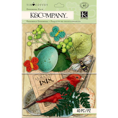 K and Company - Foliage Collection by Tim Coffey - Ephemera Pack