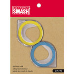 K and Company - SMASH Collection - Label Maker Tape Refill - Blue and Yellow