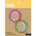 K and Company - SMASH Collection - Label Maker Tape Refill - Green and Pink