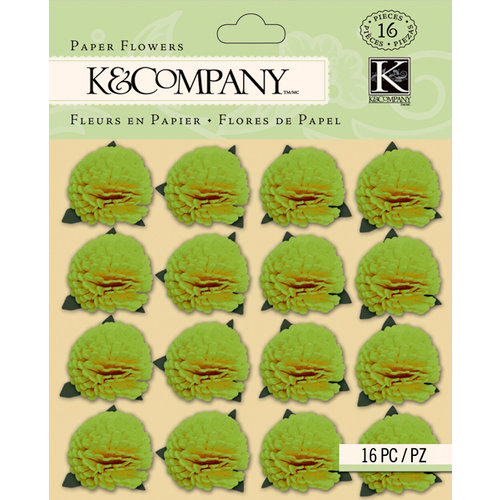 K and Company - Foliage Collection by Tim Coffey - Paper Flowers - Green