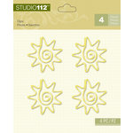 K and Company - Studio 112 Collection - Clips - Yellow Sun