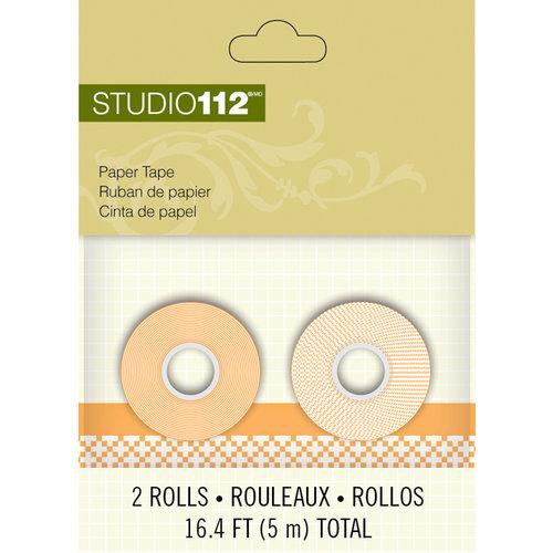 K and Company - Studio 112 Collection - Paper Tape - Orange