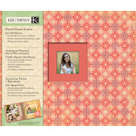 K and Company - Handmade Collection - Photo Scrapbook Album