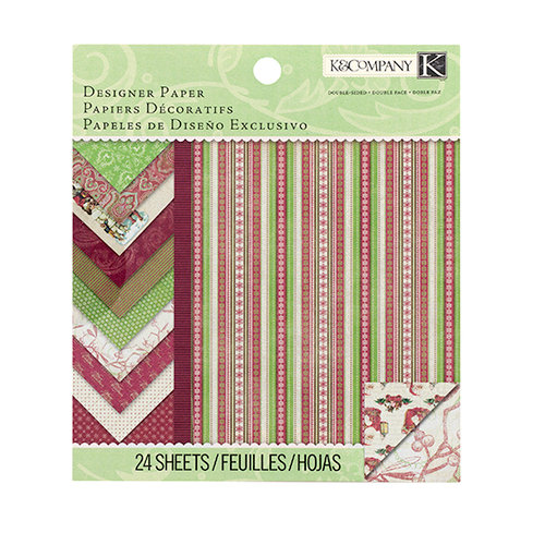 K and Company - Christmas Cheer Collection - 6 x 6 Designer Paper Pad