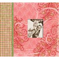 K and Company - Simply K Collection - 12 x 12 Scrapbook Album - Sophie