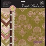 K and Company - 12 x 12 Scrap Pad To Go - K-Ology Peabody