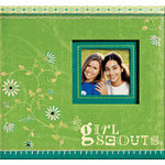 K and Company - Girl Scouts Collection - 2 Pocket Photo Album, CLEARANCE