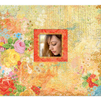 K and Company - Que Sera Sera Collection - 12 x 12 Scrapbook Album