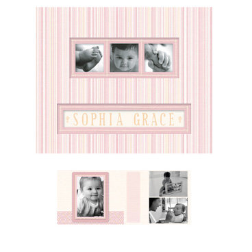 K and Company - Photo Scrap Album - Baby Maggie