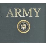 K and Company 12 x 12 Post Bound Scrapbook - Army