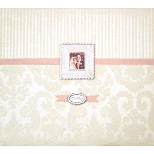 K and Company - Wedding - Bordeaux Silver 12x12 Postbound Album