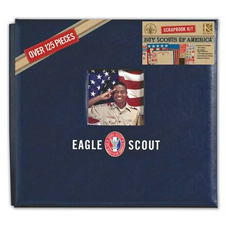 K And Company Boy Scouts Of America 12 X 12 Scrapbook Kit