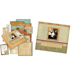 K and Company - Ancestry.com Collection - 12x12 Deluxe Scrapbook Kit