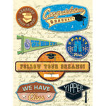K and Company - Grand Adhesions - Peter Horjus Collection - School Rules Logo Graduation, CLEARANCE
