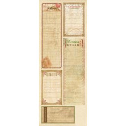 K and Company - Ancestry.com Collection - Die Cut Journaling Strips