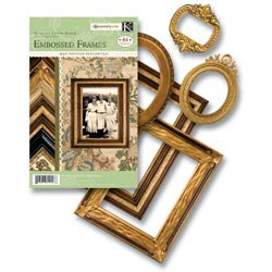 K and Company - Ancestry.com Collection - Embossed Die-Cut Paper Frames
