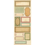 K and Company - Ancestry.com Collection - Embossed Stickers - Labels