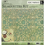 K and Company - Classic K Margo Collection - 12x12 Kit - Silhouettes