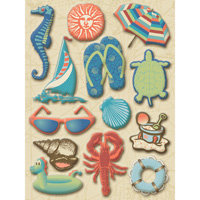 K and Company - Sea Glass Collection - Beach Icons - Clearly Yours