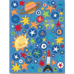 K and Company - Rough and Tumble Collection - Pillow Stickers - Rough and Tumble Stars and Planets