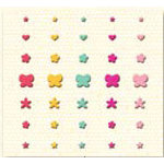 K and Company - Berry Sweet Collection - Adhesive Gems - Berry Sweet Rhinestones, CLEARANCE