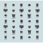 K and Company - Rhinestones Adhesive - Wedding Collection