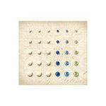 K and Company - Blue Awning Collection - Adhesive Gems