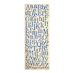 K and Company - Blue Awning Collection - Die Cut Stickers - Alphabet