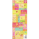 K and Company - Berry Sweet Collection - Embossed Stickers - Berry Sweet Words and Phrases, CLEARANCE