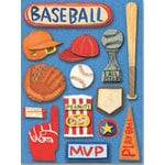 K and Company - Rough and Tumble Collection - Grand Adhesions - Rough and Tumble Baseball