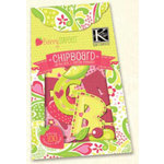 K and Company - Berry Sweet Collection - Alphabet Chipboard Box - Berry Sweet, CLEARANCE